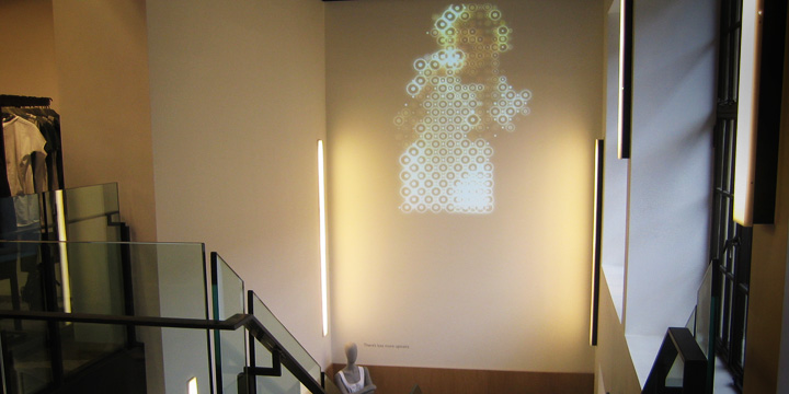 COS - in-store projection